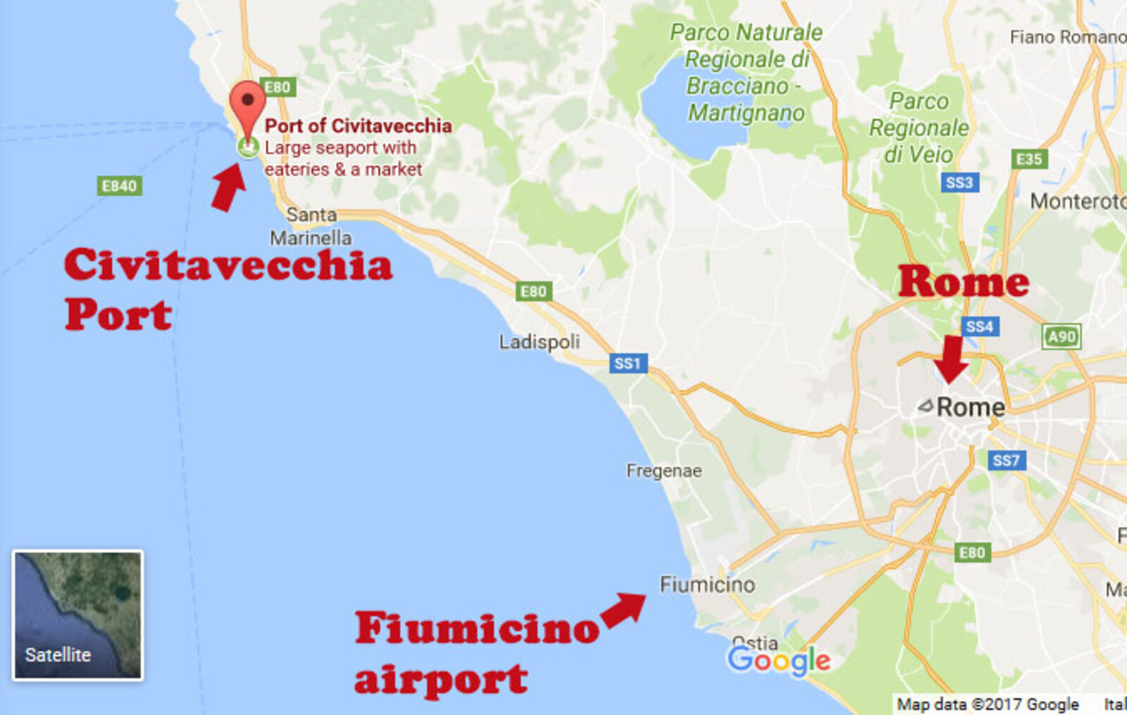 How to get from civitavecchia port to rome, all the possible ... Civitavecchia Italy Map on italian regions italy map, frascati italy map, matera italy map, acireale italy map, montichiari italy map, florence italy map, lavagna italy map, chivasso italy map, poggio italy map, castelsardo italy map, marseilles italy map, avignon italy map, munich italy map, sezze italy map, kotor italy map, locri italy map, codroipo italy map, ports of italy map, palau italy map, marotta italy map,